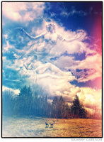 Sky Gods Afternoon - psychedelic art