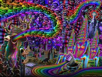 Dark Rainbow Kingdom - psychedelic art