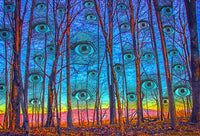 Woods Has Eyes - psychedelic art
