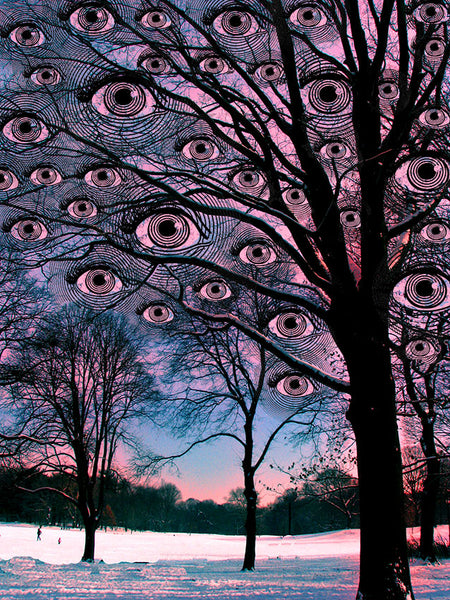 Winter Eyes - psychedelic art