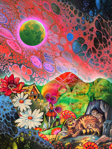 Bobcat Mountain - psychedelic art