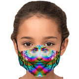 Trip Face - Face mask - psychedelic art