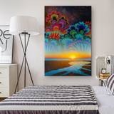 Daybreak at the Edge of the Universe - Canvas - psychedelic art