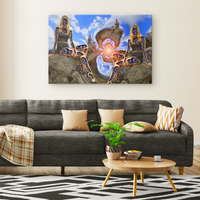 The Witching Portal - Canvas - psychedelic art