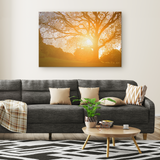 Morning Star Tree - Canvas - psychedelic art