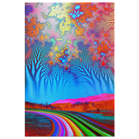 Road to Forever - Canvas - psychedelic art