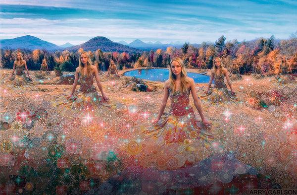 Fields of Stardust - psychedelic art