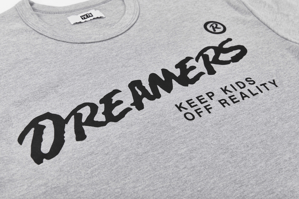 TIP DREAMERS TEE - GREY