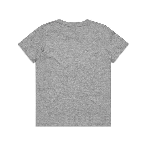 KIDS OUTLINER TEE - GREY