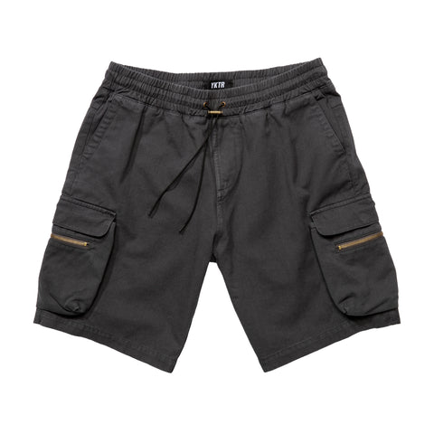 UTILITY SHORT - WASHED BLACK