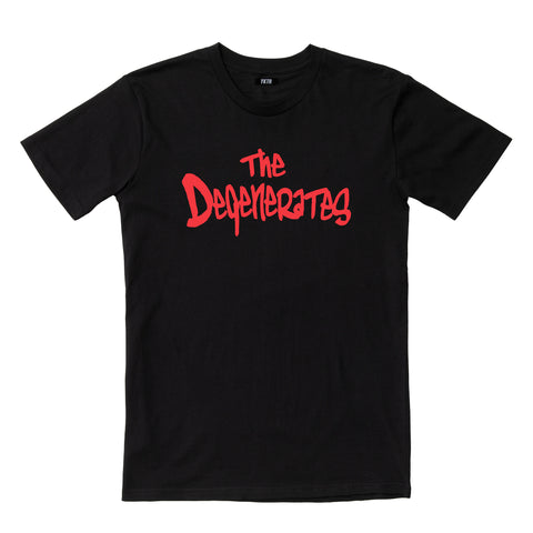 DEGENERATES TEE - BLACK