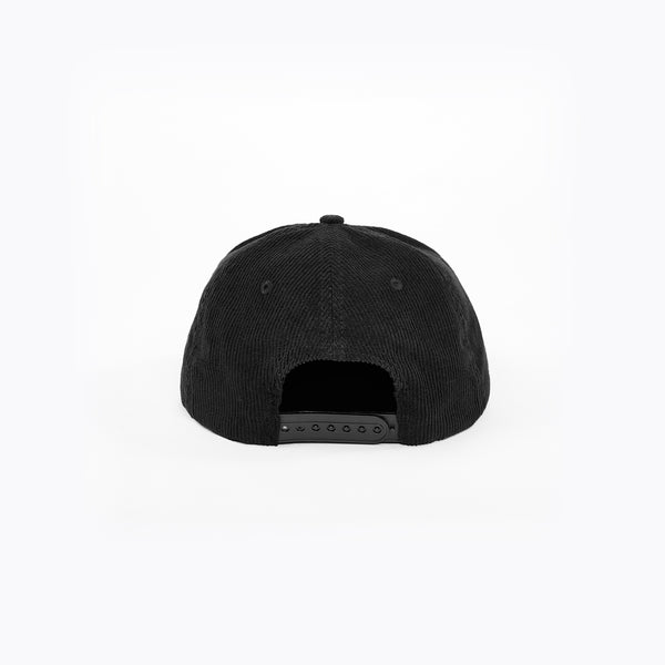 INITIAL LACED CAP - BLACK