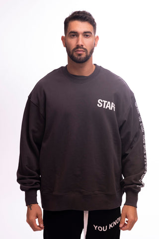 STAFF CREW O/S - WASHED GREY