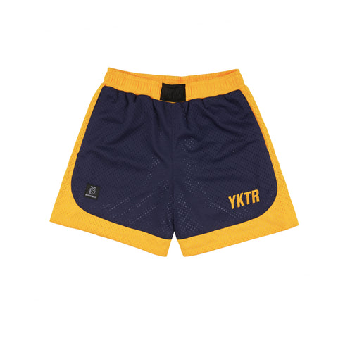 KOBE SHORT 3 - NAVY/YELLOW
