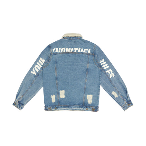 DENIM JACKET '20 - BLUE