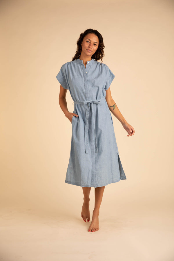 Classic Astrid Easy Dress CHAMBRAY