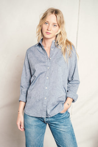 Grace classic shirt CHAMBRAY