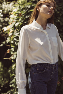 Grace Classic Shirt ANTIQUE WHITE