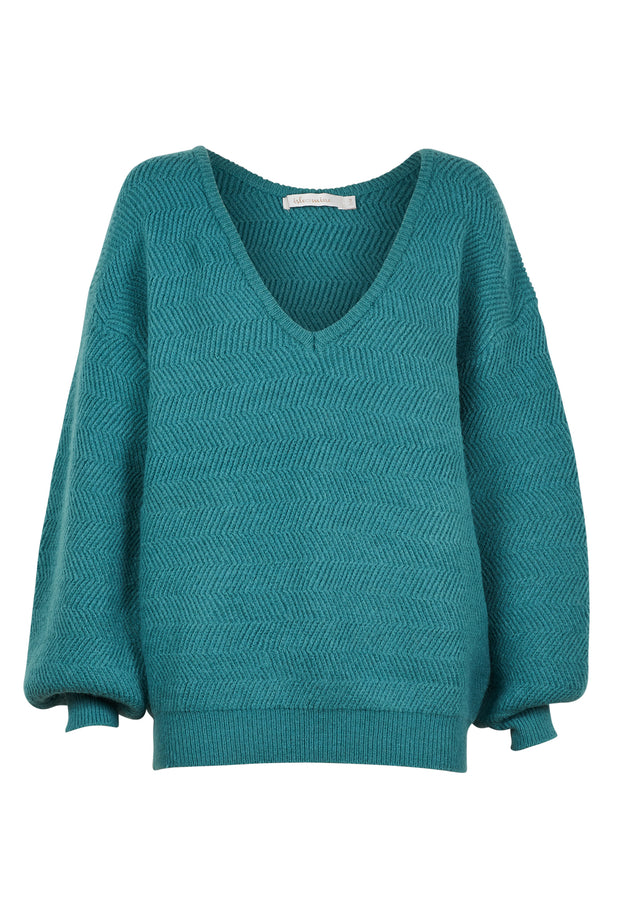 Awaken Knit | Teal