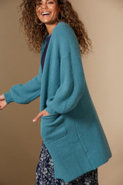 Awaken Cardigan | Teal