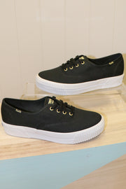 Keds | Triple CVO Chunky Canvas | Black