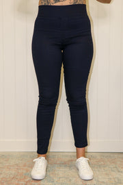 Betty Basics || Miller Stretch Jeans | Dark Blue