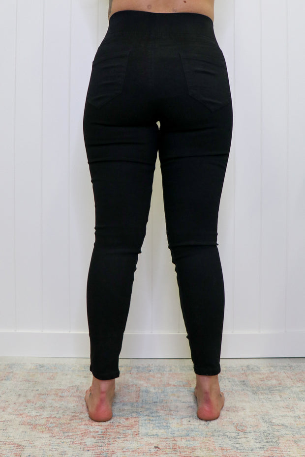 Betty Basics || Miller Stretch Jeans | Black