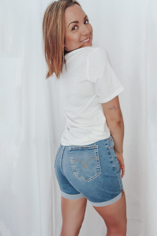 Halle Denim Shorts