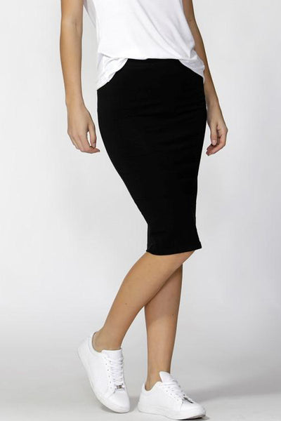 Alicia Midi Skirt | Black