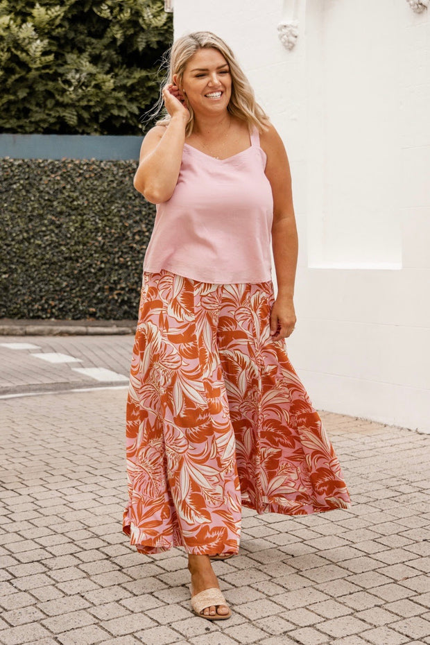 Logan Tank Dress | White
