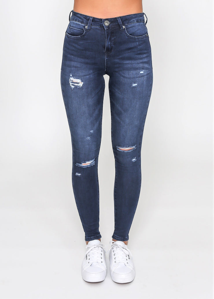 Kiera Denim Jeans | Ink