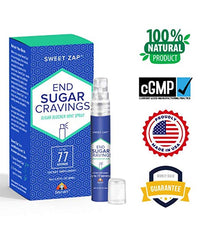 Curb Sugar Cravings - Sweet Zap by Seynani, Sugar Blocker Spray