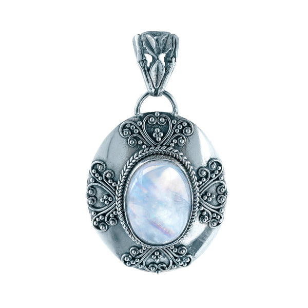 Mystic's Magic Rainbow Moonstone Pendant