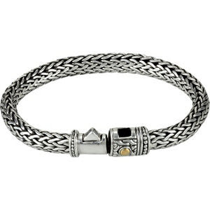 Double Weave Eternity Bracelet
