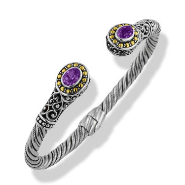 Berjalin Bangle - Average - Amethyst