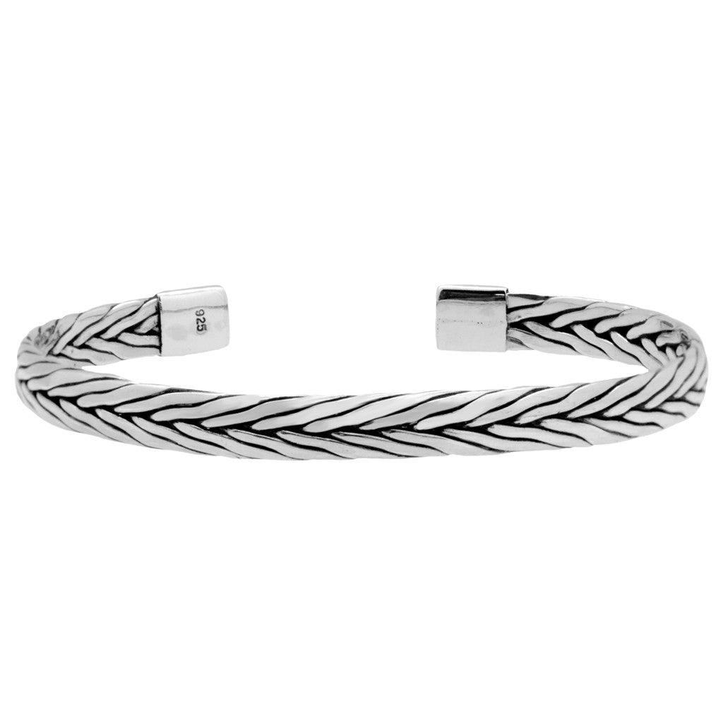 cute braided bracelet cuff