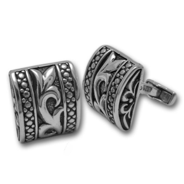 Sterling Silver Filigree Cufflinks