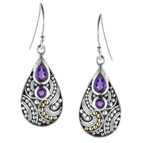 Pear Shaped Wirework Earrings - More Colors