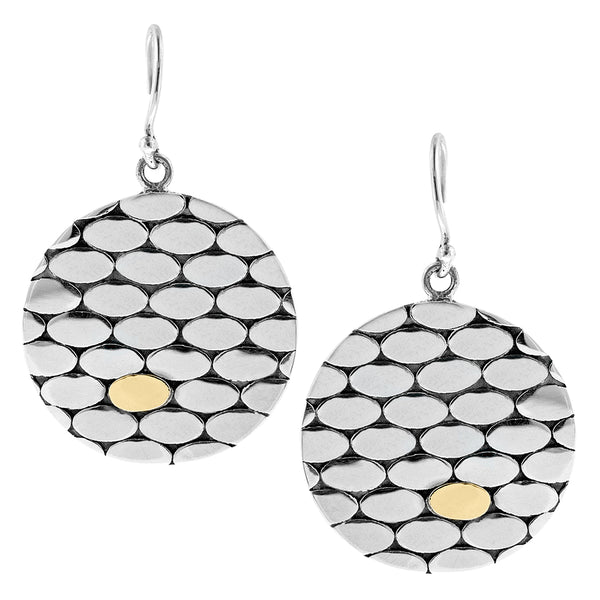 geometric bubble earrings