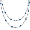 40 Inch Station Necklace- More Colors