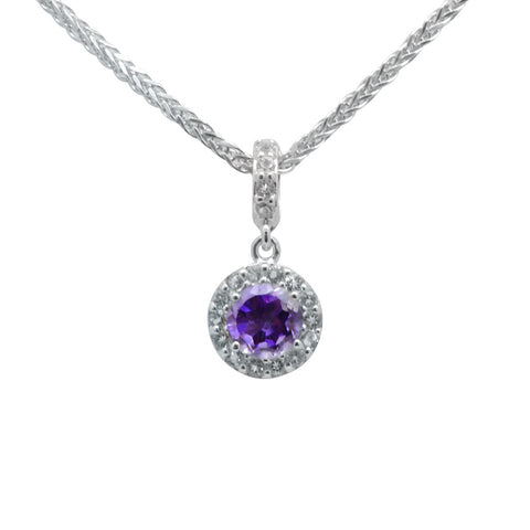 Gem Drops Pendant on Chain - More Colors