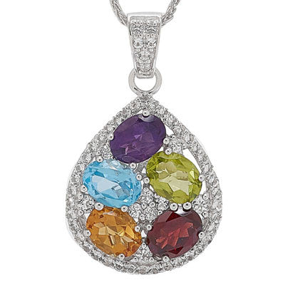 Brilliant Bouquet Necklace - More Colors