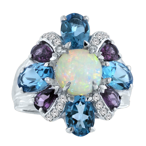 Opal Cocktail Ring