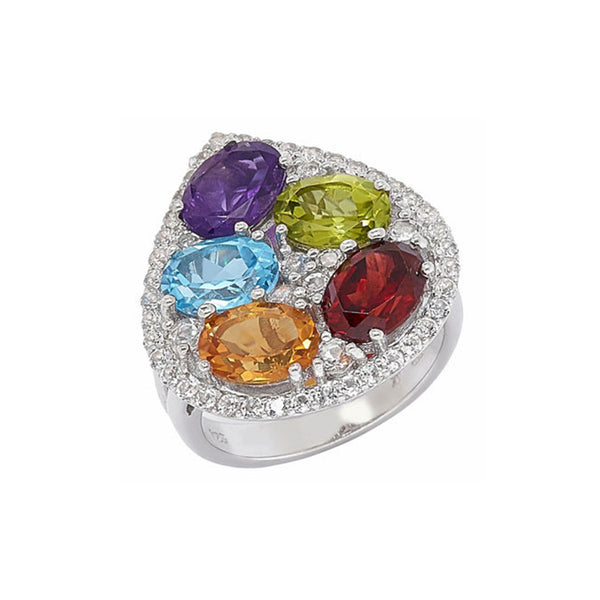 Brilliant Bouquet Ring - More Colors