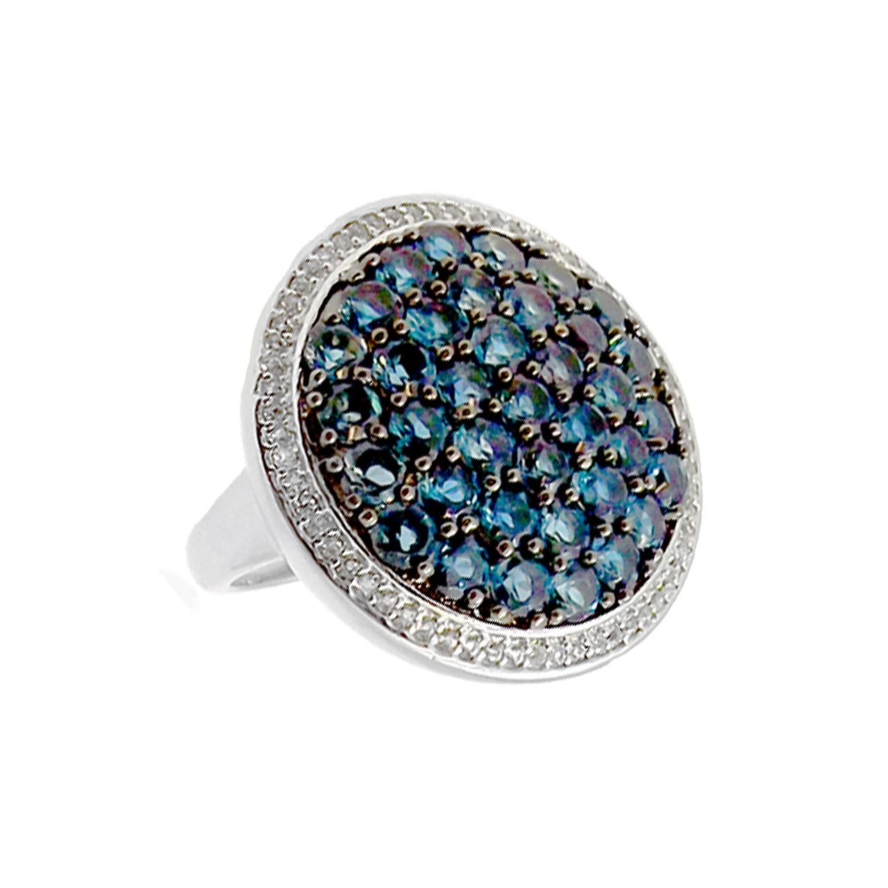 London Blue Circlet Ring