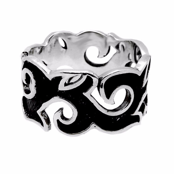 Bold Tribal Band Ring