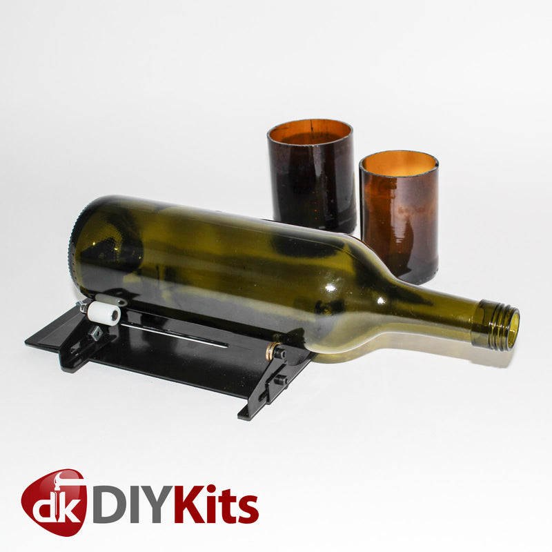 Glass bottle cutter kit