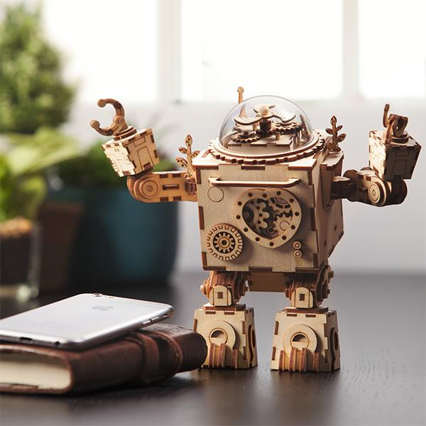 Robotime Steampunk Music Boxes