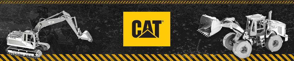 Caterpillar Metal Earth collection