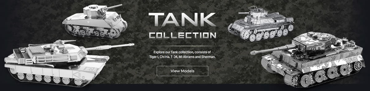 Metal Earth Tanks